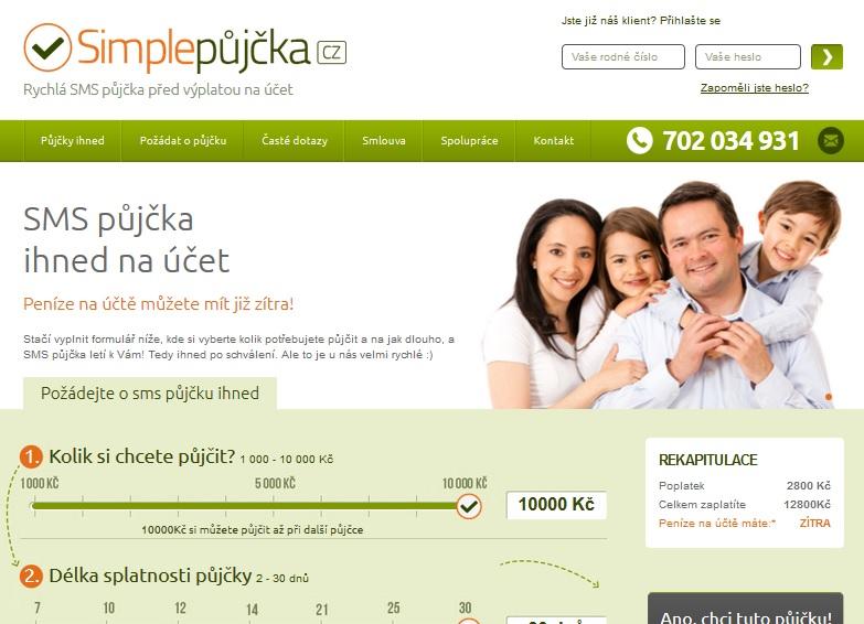 simplepujcka.cz